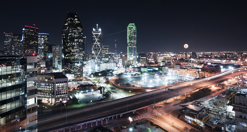Li Fan Photography Dallas Cityscape At Night Li Fan Photography