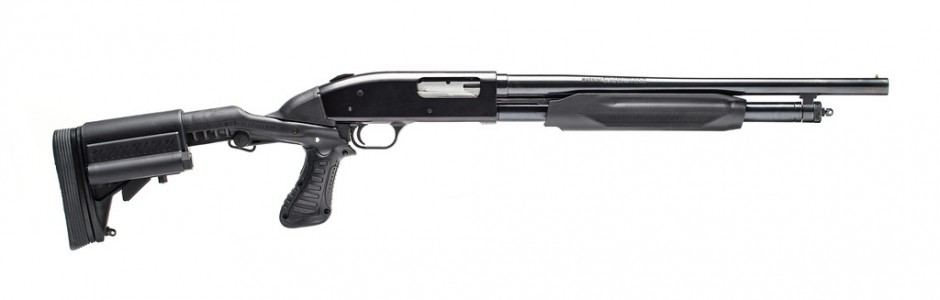 Custom mossberg 500 shotgun